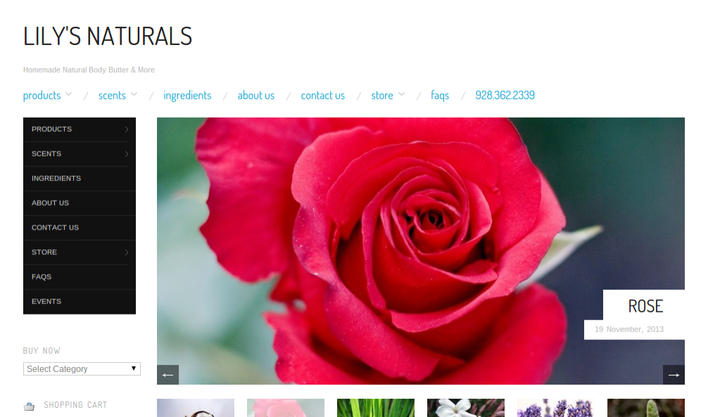 Featured Site: Lily's Naturals