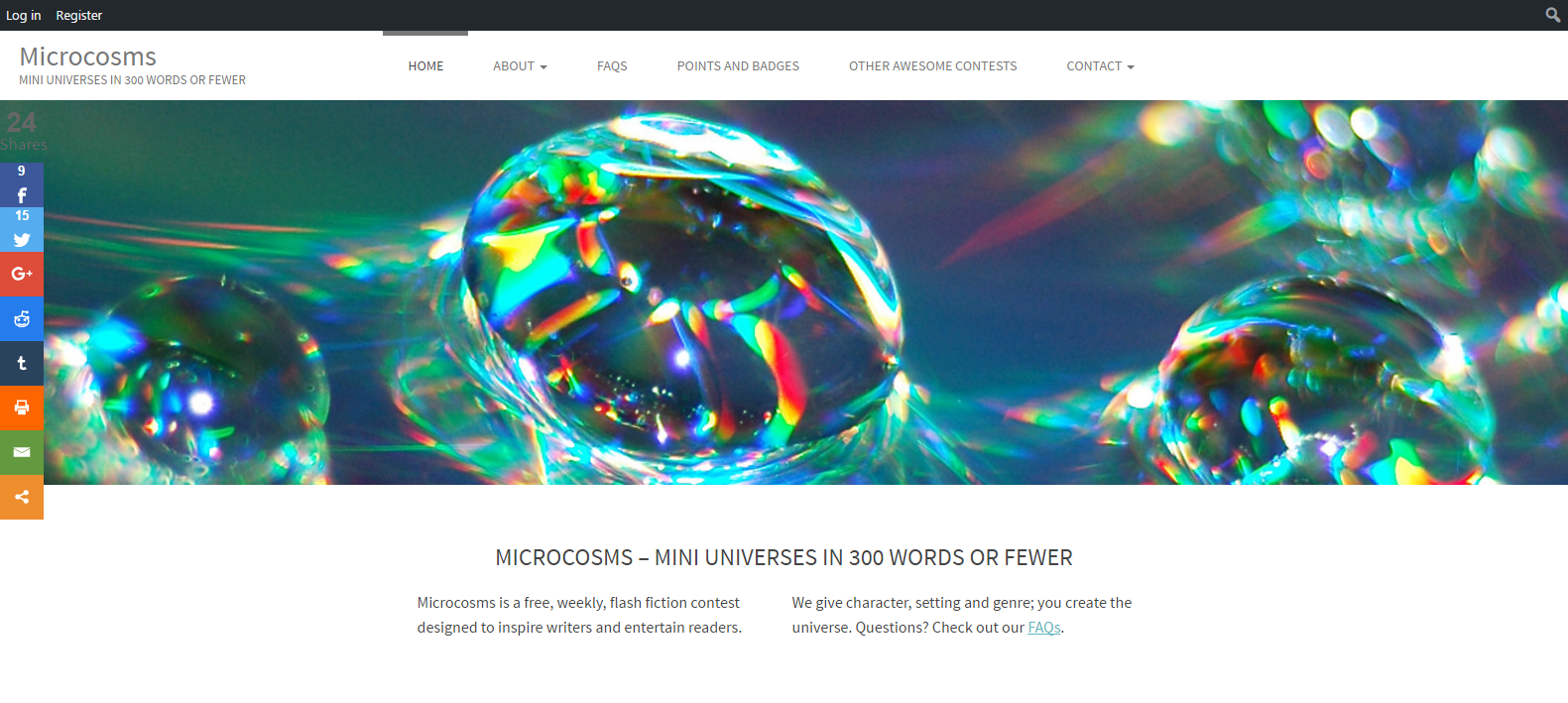 Featured Site: Microcosms